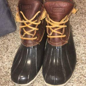 Sperry Duck boots women's size 9